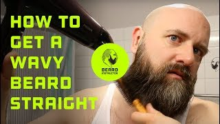 Download How to get a wavy beard straight | Beard Instructor Video