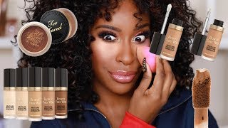 Download OK TOO FACED Dat's What We Doing Now!? Sculpting Concealer + Powder Review | Jackie Aina Video