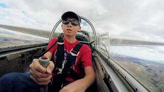 Download 14 Year Old First Glider Solo Video