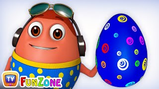 Download Learn BLUE Colour with Johny Johny Yes Papa | Surprise Eggs Colours Ball Pit Show | ChuChuTV 3D Fun Video