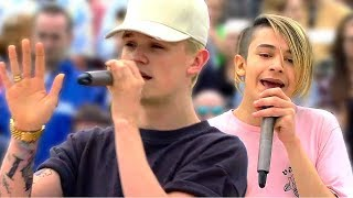 Download Bars and Melody: Thousand Years LIVE (ZDF Fernsehgarten, 2/7/17) Video
