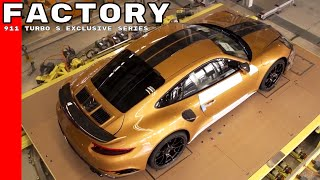 Download Porsche 911 Turbo S Exclusive Series Factory Video