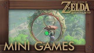Download Zelda Breath of the Wild - All Mini Games Video