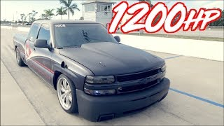 Download 1200HP Silverado ″Heavy Chevy″ vs 1000HP Hellcat + 900HP Evo Battle! Video