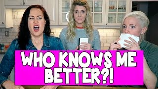Download WHICH BFF KNOWS ME BETTER (ft HANNAH & MAMRIE) // Grace Helbig Video