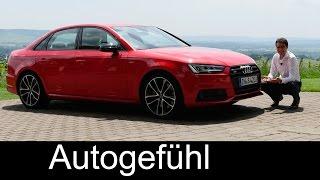 Download Audi S4 FULL REVIEW test driven V6 Limousine/sedan & Avant/estate new neu Video