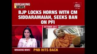 Download BJP, Congress Lock Horns Over PFI Ban In Karnataka Video