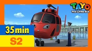 Download Tayo S2 Full Episodes S2 E20-E22 (7/8) l Gani's present l Air, the brave helicopter Video