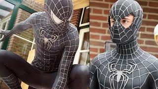 Download SPIDER-MAN Black Suit Movie Costume Replica! Video