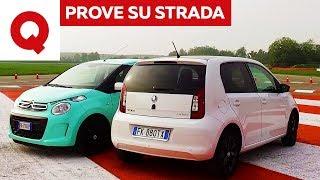 Download Citroën C1 VS Skoda Citigo: sfida tra cittadine | Quattroruote Video