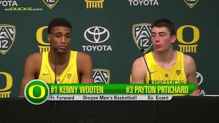 Download Kenny Wooten and Payton Pritchard Texas Southern Post Game Video