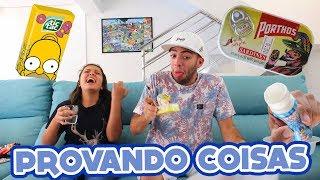 Download PROVANDO COISAS DE ISRAEL!! (ft. Minha Irmã) Video