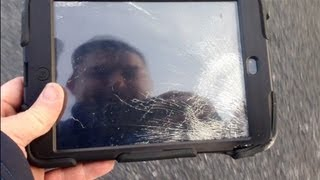 Download Extreme iPad Mini Roof Drop Test! (Griffin Survivor vs Otterbox Defender) Video