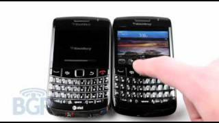 Download BlackBerry Bold 9700 vs BlackBerry 9780 boot up comparison Video