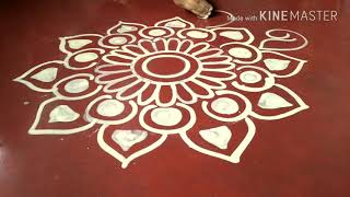 Download How to draw Saraswati pooja special alpona... Video
