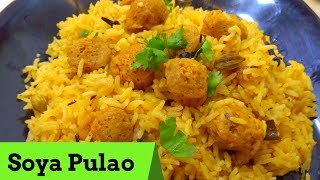 Download Soya Pulao | Meal Maker Rice in Telugu Video