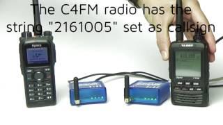 Part 2 - SharkRF OpenSPOT DMR C4FM crossmode Wires-X test DN VW Free