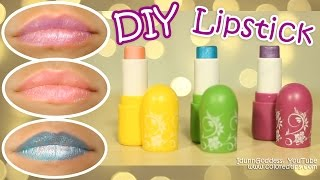 Download DIY Lipstick - How To Make Lipstick in 5 minutes WITHOUT Crayons and Any Special Materials Video