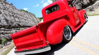 Download 1951 Chevy 3100 -Backdraft- Full Custom Air Ride Pro Touring Restomod Truck Video