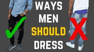 Download 5 Ways Men SHOULD Be Dressing Video