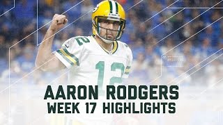Download Aaron Rodgers' Magical 300-Yard, 4 TD Victory! | NFL Week 17 Player Highlights Video