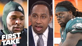 Download Stephen A.: Eagles can't afford Le'Veon Bell to replace injured Jay Ajayi | First Take Video