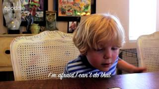 Download 5 year old tries to have a conversation with Siri Video
