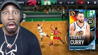 Download 101 OVR FINALS GAME 1 STEPH CURRY IS A CHEAT CODE! NBA Live Mobile 18 Gameplay Pack Opening Ep. 55 Video