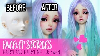 Download Repainting Dolls - Fairyland Lucywen - Faceup Stories ep.51 Video