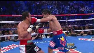 Download Round 9 highlights - Manny Pacquiao vs Juan Manuel Marquez III Video