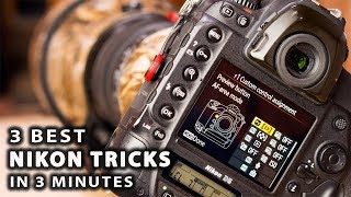 Download 3 BEST NIKON TRICKS in 3 minutes   Step up your wildlife photography Video
