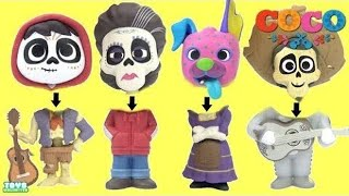 Download Disney PIXAR's COCO Movie WRONG HEADS, Miguel Rivera, Ernesto De La Cruz KOKO New Toys Video