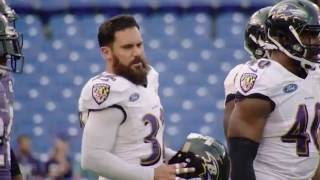 Download Eric Weddle Goes Head To Head With Dennis Pitta | Wired | Baltimore Ravens Video