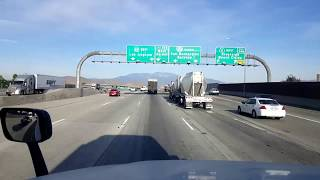 Download BigRigTravels LIVE! Moreno Valley to Ontario, California I-215, CA 60 & I-15-Jan. 15, 2018 Video
