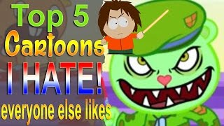 Download Top 5 Cartoons I hate that Everyone Likes Video