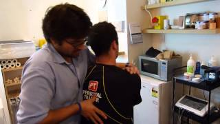 Download Acute neck muscle spasm, uppercross, chiropractor Croydon treatmnens for Neck pain Video
