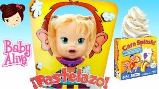 Download Baby Alive Muñeca Juega a Pastelazo Cara Splash - Juego de Mesa Pie Face Video