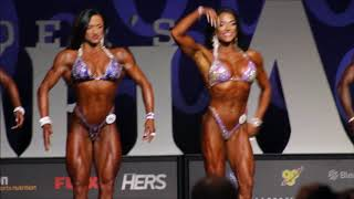 Download 2017 Olympia ( Figure) 1st Callouts Video