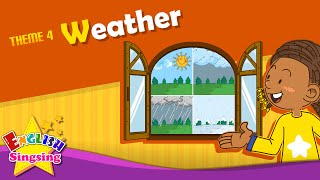 Download Theme 4. Weather - How's the weather? It's sunny. | ESL Song & Story - Learning English for Kids Video