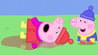 Download Peppa Pig Official Channel | Peppa Pig's First Snow Day! Video
