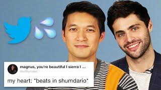 Download Harry Shum Jr. And Matthew Daddario Read Thirst Tweets Video