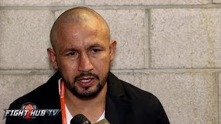 Download ORLANDO SALIDO REACTS TO GONZALEZ KO LOSS; TELLS LOMACHENKO TO FIGHT GUYS HIS OWN WEIGHT Video