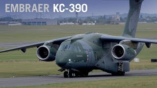 Download Embraer's KC-390 Military Transport Jet Makes Paris Debut, Nears Certification – AINtv Video