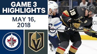 Download NHL Highlights | Jets vs. Golden Knights, Game 3 - May 16, 2018 Video
