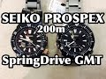 Download SEIKO TRANSOCEAN Spring Drive GMT SBDB017 SBDB018 Video