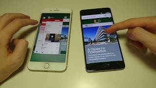 Download OnePlus 3T vs iPhone 7 Plus Speed Test, Camera Speed, Fingerprint Scanner, Multitasking Video