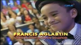 Download Lola's Playlist Beat The Champion Francis Aglabtin (Compilation) Video