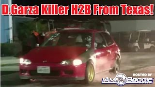 Download Davids Killer H2b Civic From Texas Highway Pulls with Mustangs and Others! Video