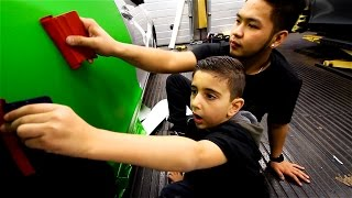 Download Nicholas Learning To Wrap with Mark from Yiannimize Video