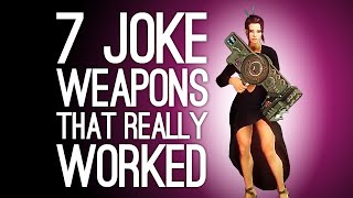 Download 7 Joke Weapons That Were Surprisingly Effective: Commenter Edition Video